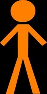 homme en orange